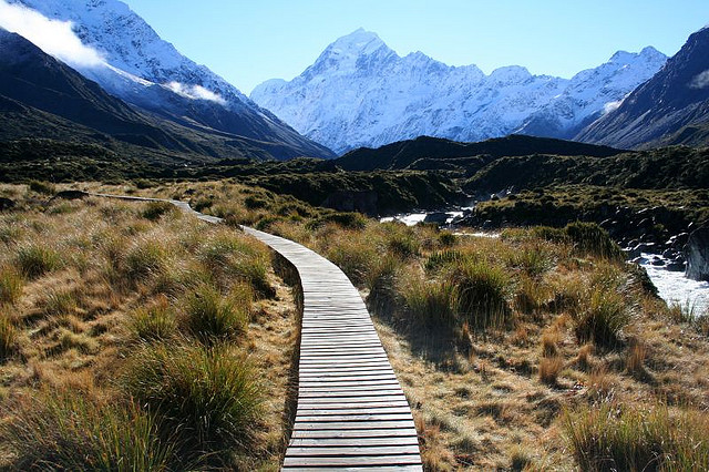 North Or South Island New Zealand To Hike