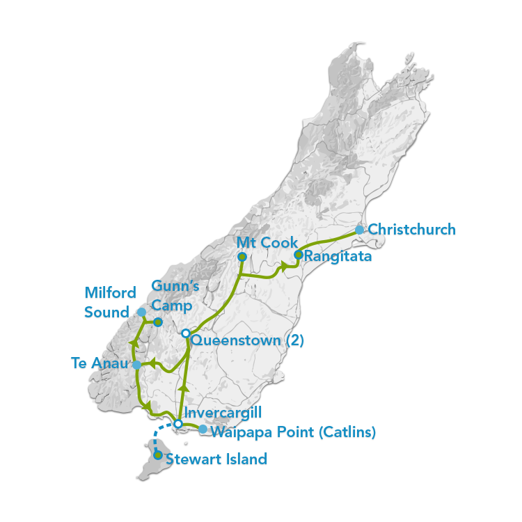 Christchurch To Queenstown One Way Tour